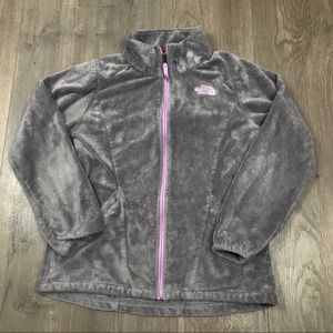 The North Face Grey Osito Fleece Jacket